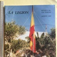 Militaria: LA LEGIÓN, REVISTA AGOSTO 1988. Lote 183480001
