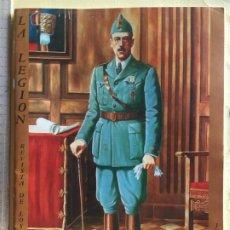 Militaria: LA LEGIÓN, REVISTA JUNIO 1988. Lote 183480223
