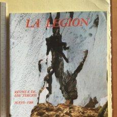 Militaria: LA LEGIÓN, REVISTA MAYO 1988. Lote 183480285