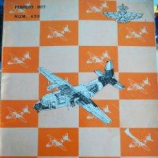 Militaria: REVISTA DE AERONÁUTICA Y ASTRONAUTICA 1977 NUM 435. Lote 183488722