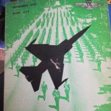 Militaria: REVISTA DE AERONÁUTICA Y ASTRONAUTICA 1976 NUM 432. Lote 183489096