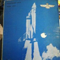 Militaria: REVISTA DE AERONÁUTICA Y ASTRONAUTICA 1974 NUM 408. Lote 183489200