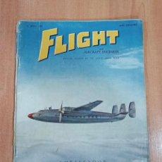 Militaria: 2 REVISTAS FLIGHT AND AIRCRAFT ENGINEER. ABRIL 1950 Y ABRIL 1951. AVIACION. EN INGLES. Lote 183551728