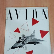 Militaria: REVISTA AVION. SEPTIEMBRE 1954. REVISTA DE AVIONES Y AERONAUTICA. Lote 183551895