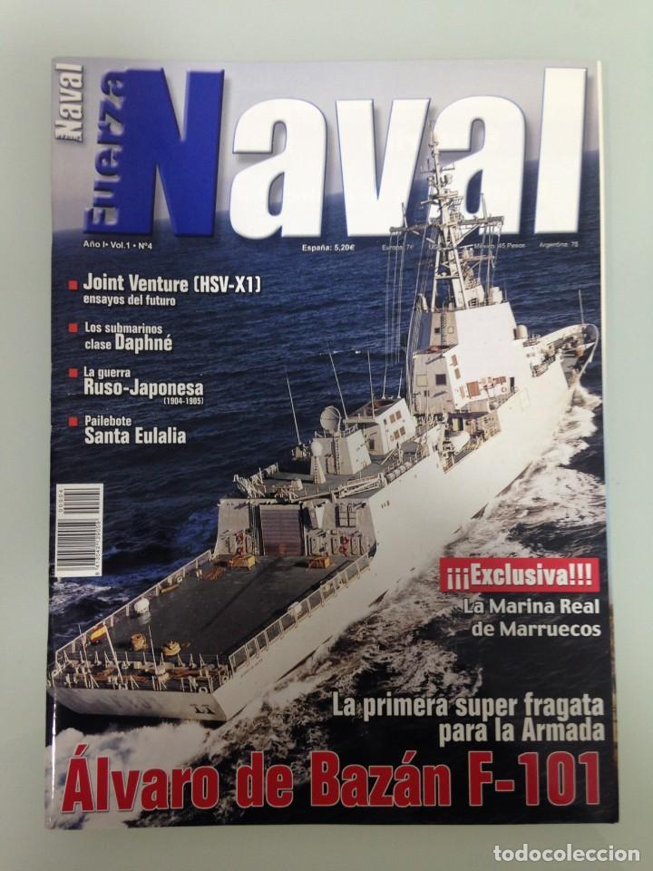 FUERZA NAVAL 4, POSTER,FRAGATA F-101,MARINA REAL DE MARRUECOS,JOINT VENTURA HSV-X1,CUTTY SARK,DAPHNE (Militar - Revistas y Periódicos Militares)