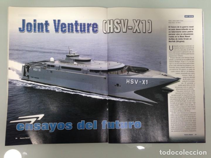 Militaria: FUERZA NAVAL 4, POSTER,FRAGATA F-101,MARINA REAL DE MARRUECOS,JOINT VENTURA HSV-X1,CUTTY SARK,DAPHNE - Foto 7 - 194290787