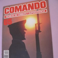 Militaria: COMANDO, TÉCNICAS DE COMBATE Y SUPERVIVENCIA. 1988. FASCICULOS Nº 65.. Lote 184190525