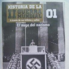 Militaria: COLECCIONABLE: HISTORIA II GUERRA MUNDIAL A TRAVES DE SUS BILLETES Y SELLOS,Nº 1 , AUGE DEL NAZISMO. Lote 187392282