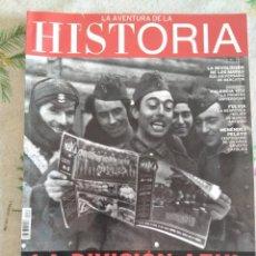 Militaria: DIVISIÓN AZUL,LA AVENTURA DE LA HISTORIA,N163,AÑO 2012. Lote 188551077