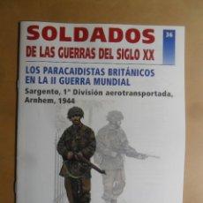 Militaria: 36-SOLDADOS DE LAS GUERRAS DEL SIGLO XX-PARACAIDISTAS BRITANICOS EN LA II G. M.-DEL PRADO 2001. Lote 190335903