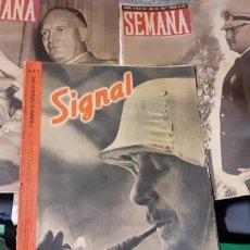 Militaria: LOTE REVISTAS SEMANA Y SIGNAL. Lote 190727475