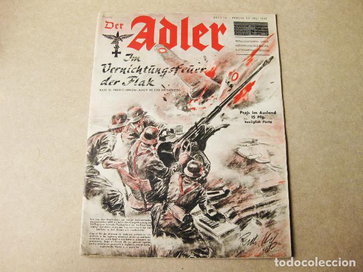 REVISTA ADLER DE 23 DE JULIO DE 1940 (Militar - Revistas y Periódicos Militares)