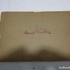 Militaria: LIBRO GRÁFICOS DE HANS LINKA AÑO 1944. Lote 190741246