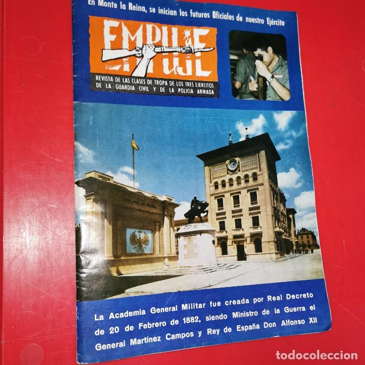 EMPUJE. REVISTA DE LAS CLASES DE TROPA DE LOS 3 EJERCITOS, DE LA GC Y DE LA PN. Nº 489 1977 (Militar - Revistas y Periódicos Militares)