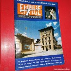 Militaria: EMPUJE. REVISTA DE LAS CLASES DE TROPA DE LOS 3 EJERCITOS, DE LA GC Y DE LA PN. Nº 489 1977. Lote 191167925