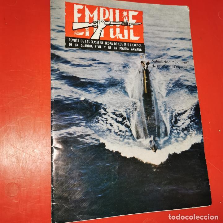 EMPUJE - JUNIO DE 1977 - SUBMARINO TONINO DE LA CLASE DAPHNE (Militar - Revistas y Periódicos Militares)