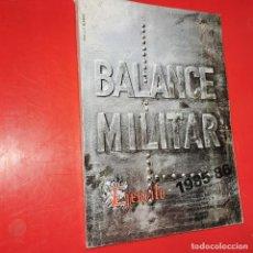 Militaria: BALANCE MILITAR. REVISTA DE LOS MANDOS SUBALTERNOS. 1985-86.. Lote 191168815