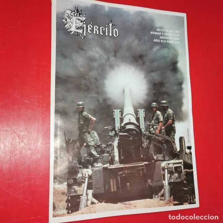 EJÉRCITO. REVISTA DE LAS ARMAS Y SERVICIOS.AGOSTO DE 1984. AÑO XLV. Nº 535 (Militar - Revistas y Periódicos Militares)