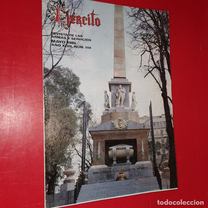 EJÉRCITO. REVISTA DE LAS ARMAS Y SERVICIOS.MAYO DE 1986. AÑO XLVIL. Nº 556 (Militar - Revistas y Periódicos Militares)