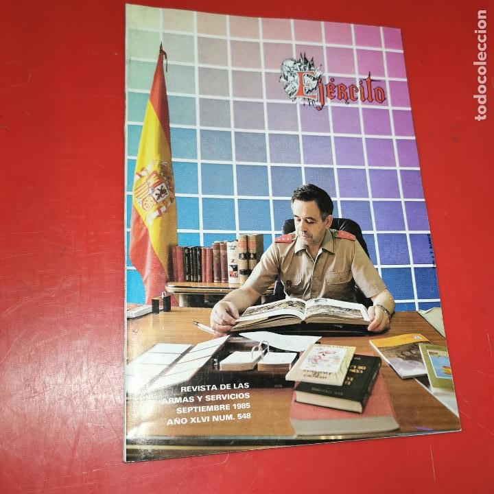 REVISTA EJERCITO SEPTIEMBRE 1985 Nº 548 (Militar - Revistas y Periódicos Militares)