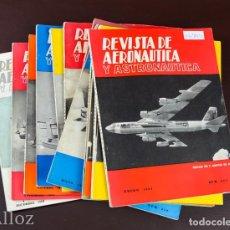 Militaria: REVISTA DE AERONAUTICA Y ASTRONAUTICA.,AÑO COMPLETO 1962. Lote 191523213