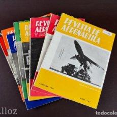 Militaria: REVISTA DE AERONAUTICA Y ASTRONAUTICA.,AÑO 1961. Lote 191524581