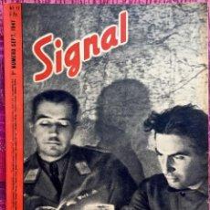 Militaria: REVISTA SIGNAL. 1941. NUMERO 17. 1ª QUINCENA DE SEPTIEMBRE . EDICION EN FRANCES.. Lote 191822877