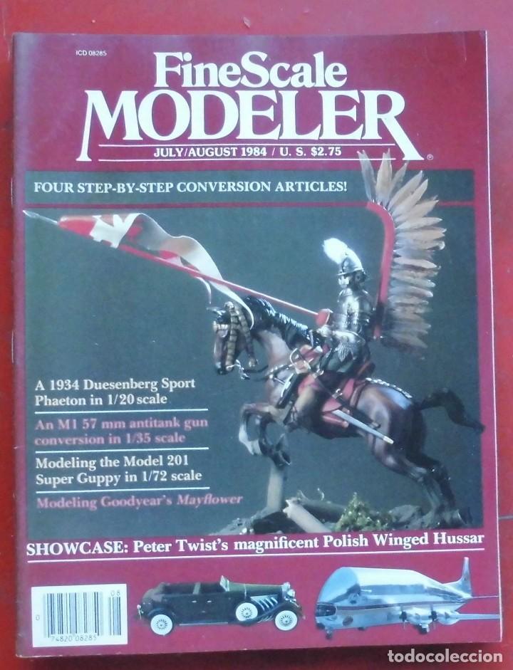 FINE SCALE MODELLER AÑO 1984 JULIO- AGOSTO (Militar - Revistas y Periódicos Militares)
