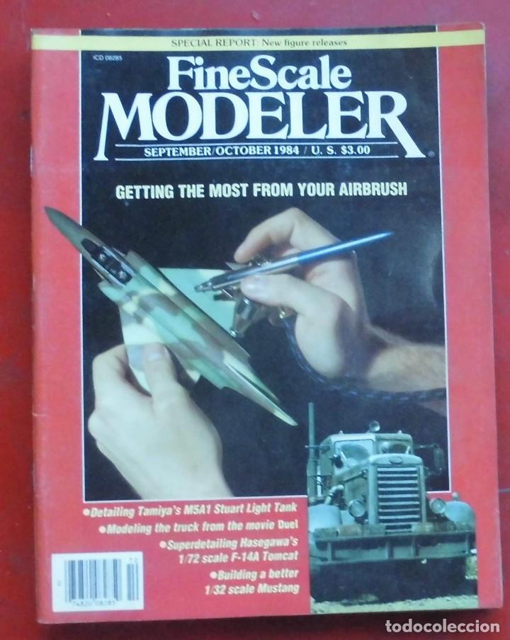 FINE SCALE MODELLER AÑO 1984 SEPTIEMBRE-OCTUBRE (Militar - Revistas y Periódicos Militares)