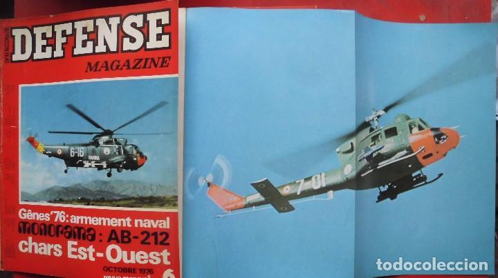 DEFENSE MAGAZINE AÑO 1976 OCTUBRE (Militar - Revistas y Periódicos Militares)