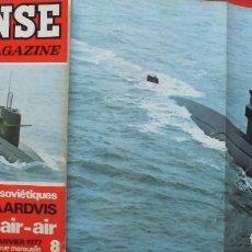 Militaria: DEFENSE MAGAZINE AÑO 1977 ENERO. Lote 194213017