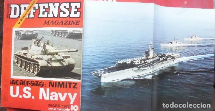 DEFENSE MAGAZINE AÑO 1977 MARZO (Militar - Revistas y Periódicos Militares)