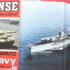 Militaria: DEFENSE MAGAZINE AÑO 1977 MARZO. Lote 194213181