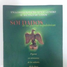 Militaria: LOTE 5 FASCICULOS DE SOLDADOS DE LAS GUERRAS NAPOLEONICAS, DEL PRADO, OSPREY. Lote 194265922