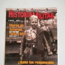Militaria: REVISTA ESPAÑOLA DE HISTORIA MILITAR NUMERO 108 109 MOROS EN ASTURIAS 1934-1937. Lote 194289790