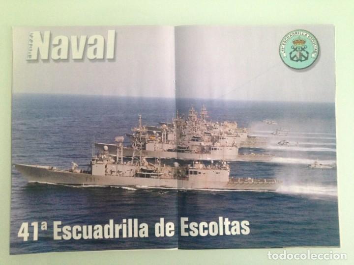 Militaria: FUERZA NAVAL 6, POSTER, OPERACIÓN SOCOTORA, MARINA DE MARRUECOS, EL KALIMA, LA ARMADA Y EL PRESTIGE, - Foto 3 - 194290752