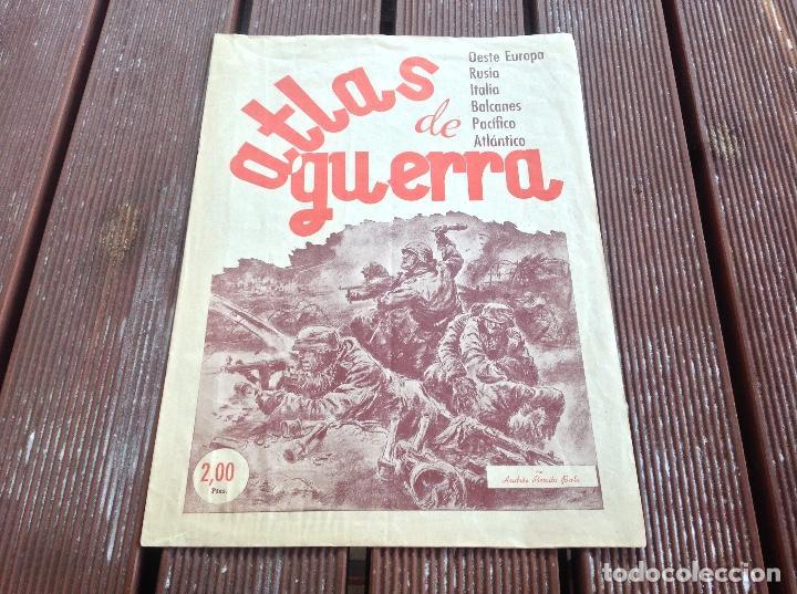 ATLAS DE GUERRA - JUNIO DE 1944 -QUINTA EDICION SANTANDER (Militar - Revistas y Periódicos Militares)