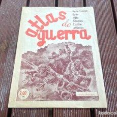 Militaria: ATLAS DE GUERRA - JUNIO DE 1944 -QUINTA EDICION SANTANDER. Lote 194301998