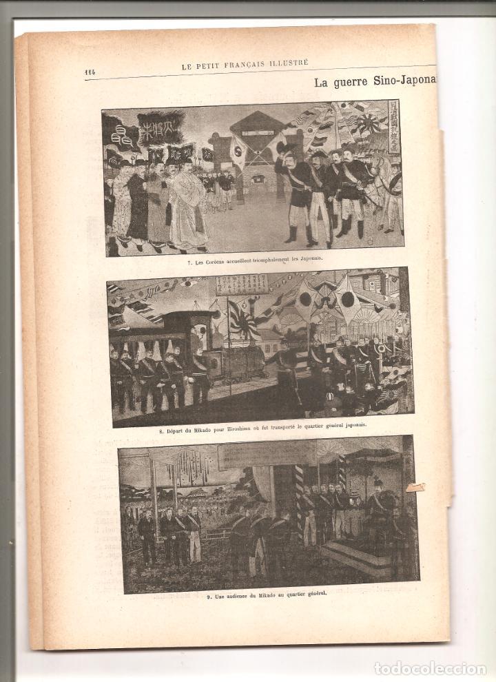 1144. GUERRA CHINO JAPONESA. TORNEO MEDIEVAL. PUBLICADO EN 1896 (Militar - Revistas y Periódicos Militares)