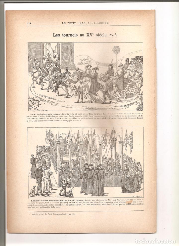 Militaria: 1144. GUERRA CHINO JAPONESA. TORNEO MEDIEVAL. PUBLICADO EN 1896 - Foto 5 - 194331110