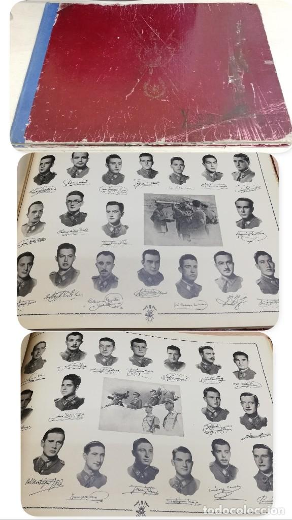 ALBUM DE LA X PROMOCIÓN DE LA ACADEMIA GENERAL MILITAR. 1953. LAMINAS CON LAS FOTOS DE LOS PROFESORE (Militar - Revistas y Periódicos Militares)