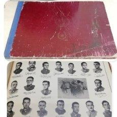 Militaria: ALBUM DE LA X PROMOCIÓN DE LA ACADEMIA GENERAL MILITAR. 1953. LAMINAS CON LAS FOTOS DE LOS PROFESORE. Lote 194393330