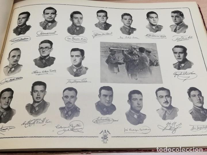 Militaria: ALBUM DE LA X PROMOCIÓN DE LA ACADEMIA GENERAL MILITAR. 1953. Laminas con las fotos de los profesore - Foto 4 - 194393330