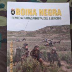 Militaria: BOINA NEGRA REVISTA PARACAIDISTA DEL EJÉRCITO N°282 2015. Lote 194653596