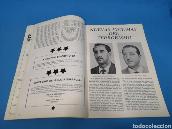 Militaria: REVISTA POLICÍA ESPAÑOLA, NÚMERO 200, AÑO 1978 - Foto 3 - 194768337