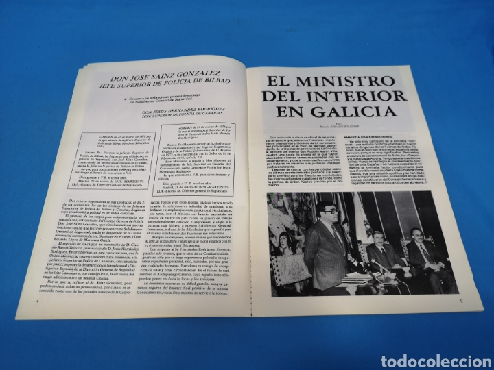 Militaria: REVISTA POLICÍA ESPAÑOLA, NÚMERO 192, AÑO 1978 - Foto 3 - 194768866