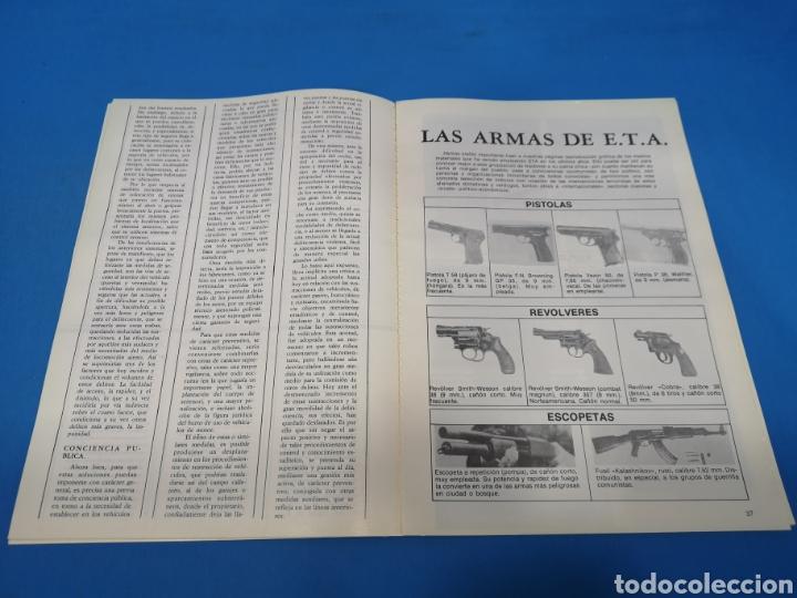 Militaria: REVISTA POLICÍA ESPAÑOLA, NÚMERO 192, AÑO 1978 - Foto 4 - 194768866
