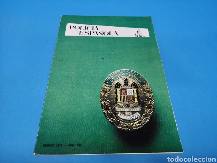 REVISTA POLICÍA ESPAÑOLA, NÚMERO 192, AÑO 1978 (Militar - Revistas y Periódicos Militares)