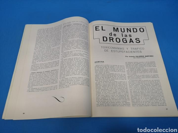 Militaria: REVISTA POLICÍA ESPAÑOLA, NÚMERO 91 y 92, AÑO 1969 - Foto 3 - 194769500