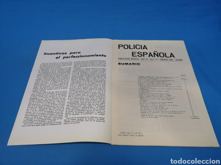 Militaria: REVISTA POLICÍA ESPAÑOLA, NÚMERO 74, AÑO 1968 - Foto 2 - 194770875